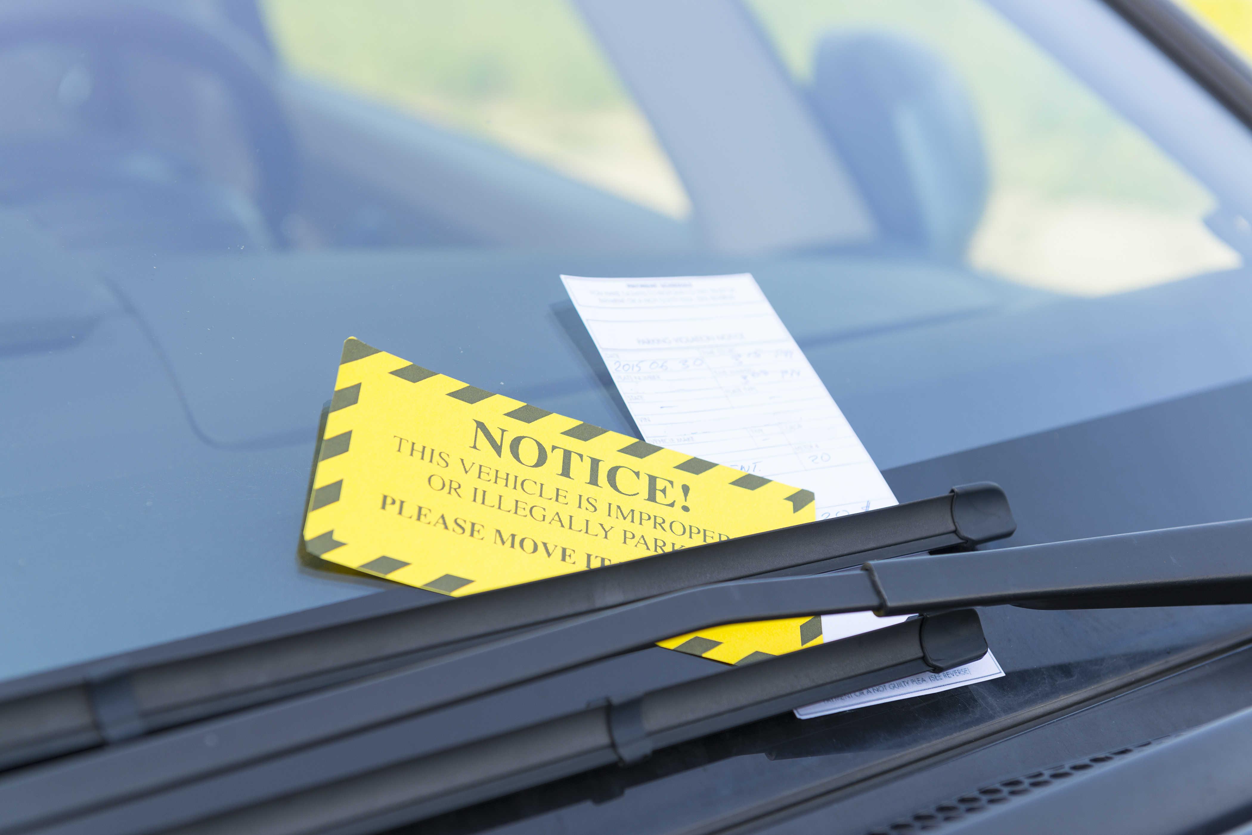 Раскладка визиток под дворники авто
