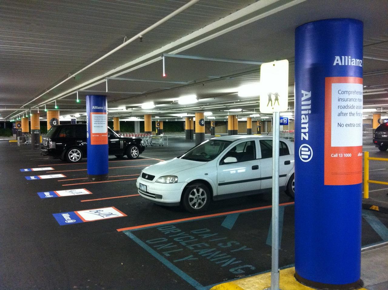 Реклама на парковках