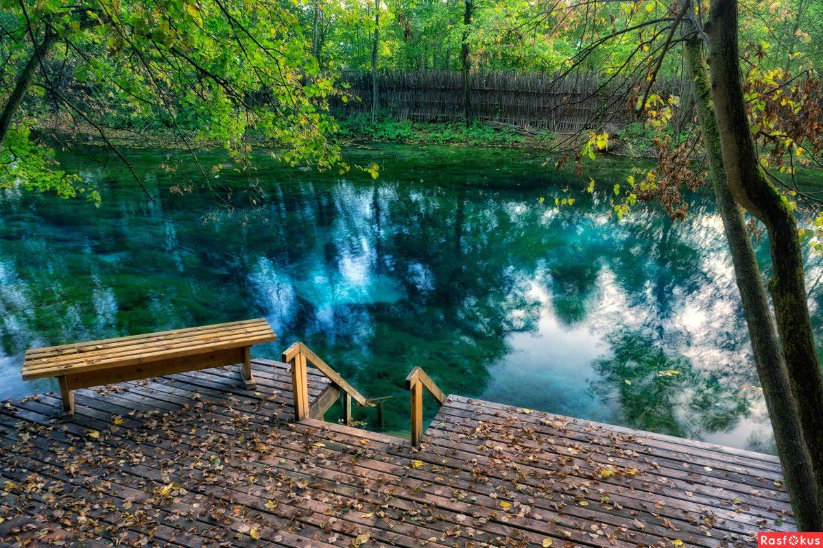 Экскурсия на голубые озёра
